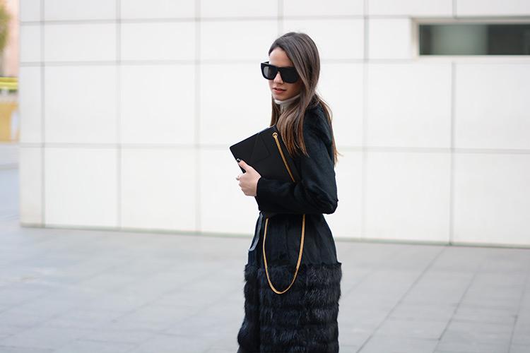 saint-laurent-bag-purificacion-garcia-fur-marni-shoes Black & Gold