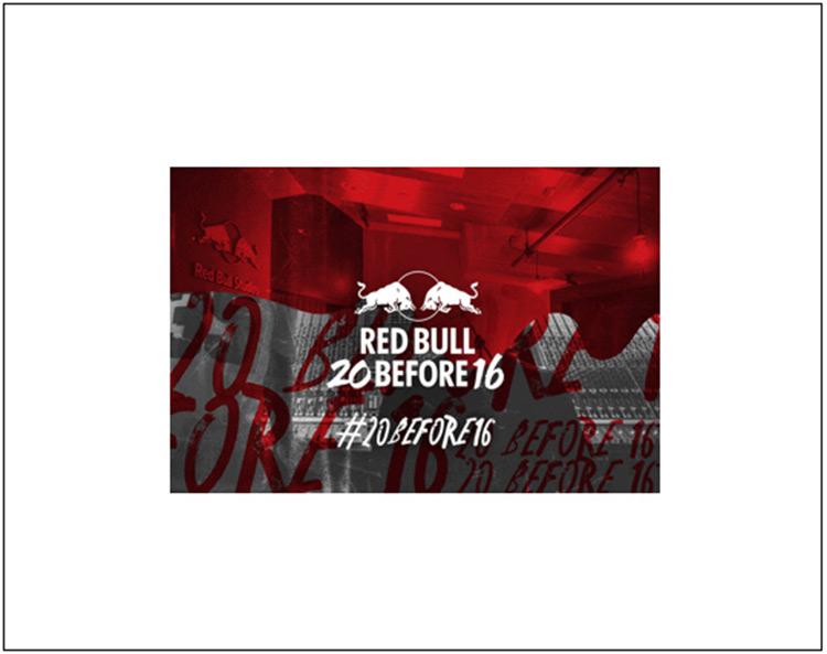 redbul1 RED BULL 20 BEFORE 16