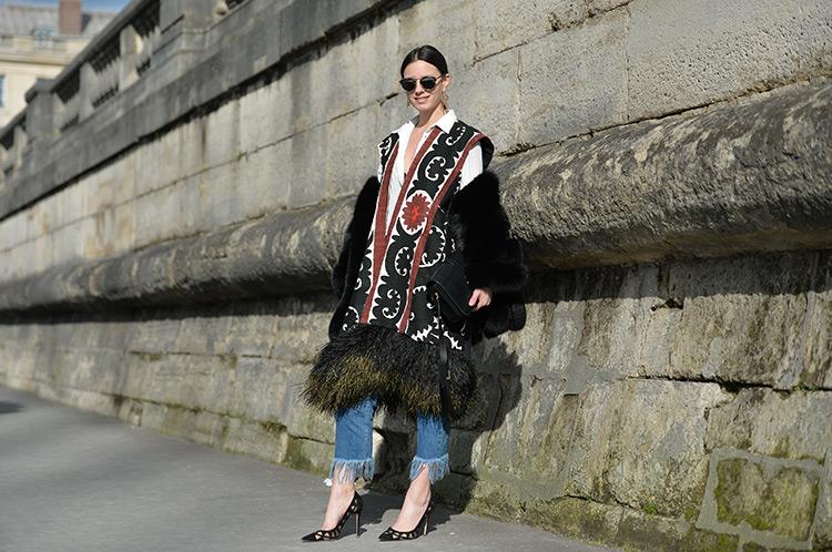 bohemian-look Bohemian Chic In Paris