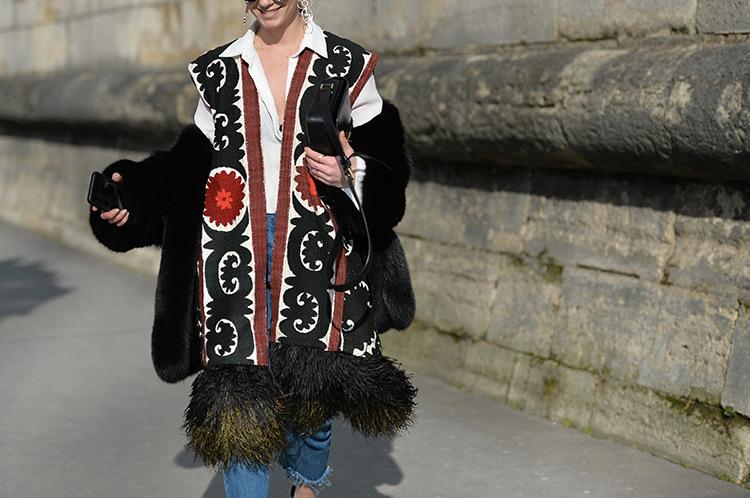 bohemian-style Bohemian Chic In Paris