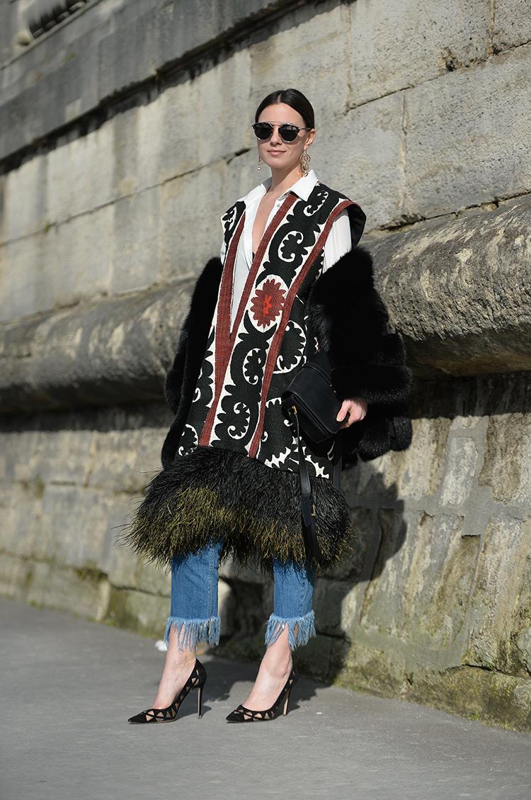 paris-fashion-week-valentino-show Bohemian Chic In Paris