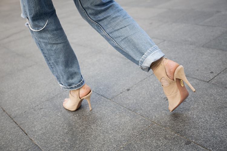 aquazzura-shoes-jeans Lace on Denim!