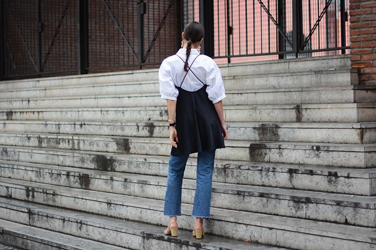 chanel-slingback-shoes-fashionvibe Wear Your Satin Dress With Jeans