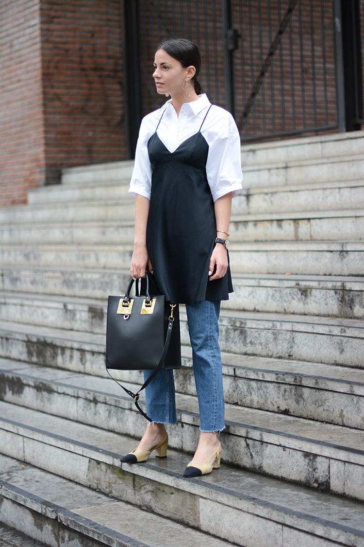 fashionvibe-sophie-hulme-bag Wear Your Satin Dress With Jeans