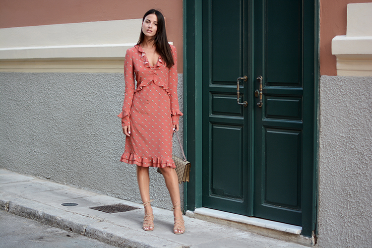 plaka-athens-chloe-sandals-gucci-bag-philosophy-dress-fashionvibe Philosophy Di Lorenzo Serafini