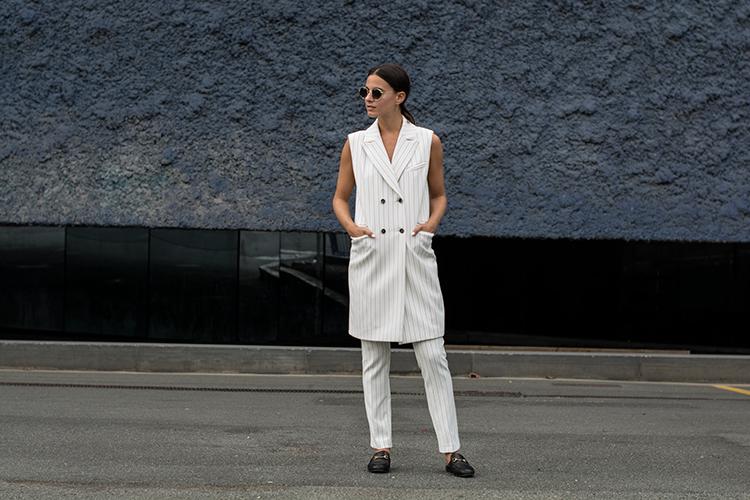 alba-conde-suit-fashionvibe-zina-charkoplia Alba Conde White Suit!