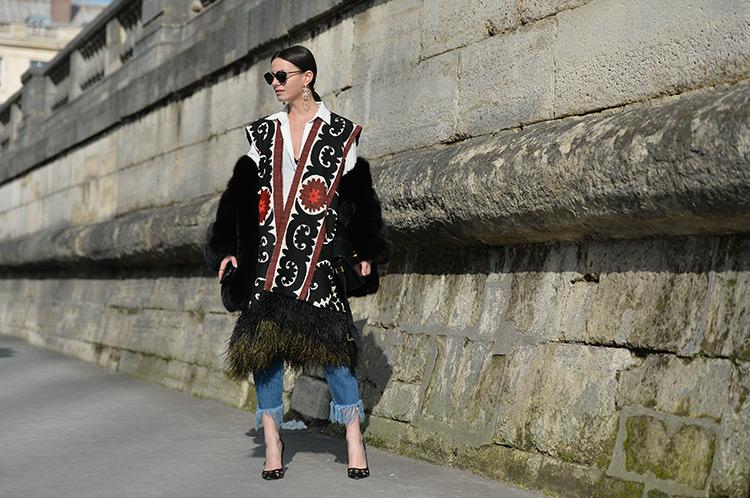 paris-fashion-week-day-8 Bohemian Chic In Paris