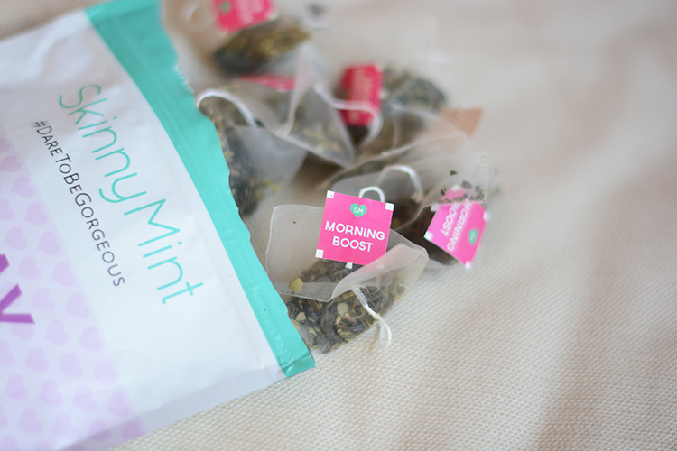 skinny-mint-tea My SkinnyMint Experience