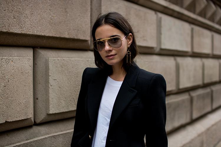 balenciaga-blazer-fashionvibe-rayban-sunglasses It´s All About The Balenciaga Blazer