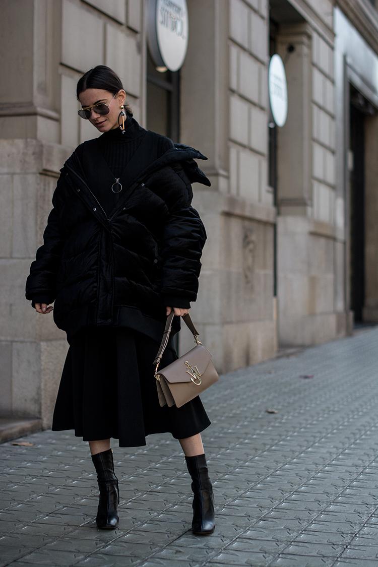 series-noir-dress-long-dress-fashionvibe The Oversize Puffer Jacket Situation