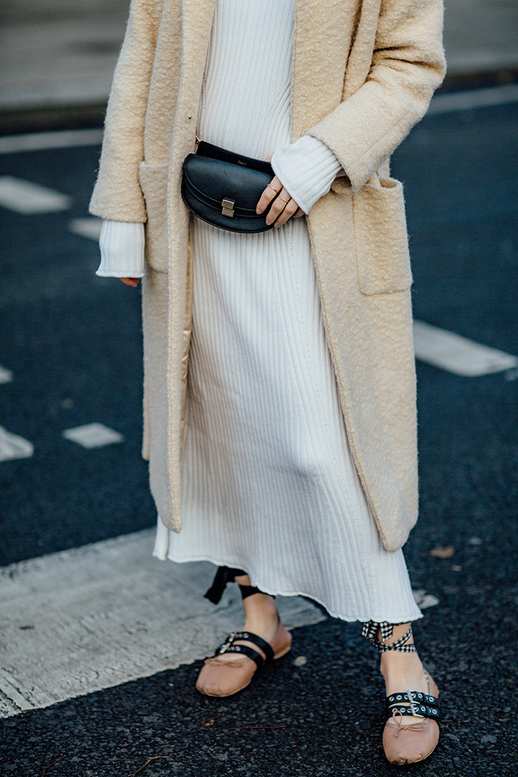 "rib-dress-white-london-fashionvibe-details Find the perfect ""everyday rib dress"""