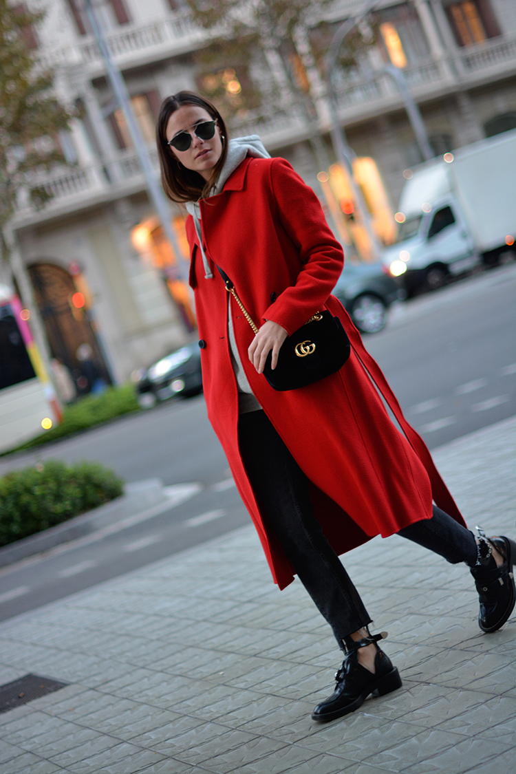 red-autumn-fashionvibe Autumn Red in Tara Jarmon!